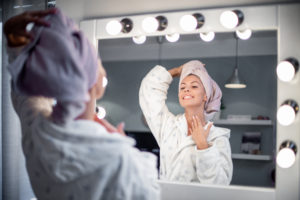 Caring for your décolletage